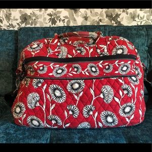 Vera Bradley Deco Daisy Weekender Bag